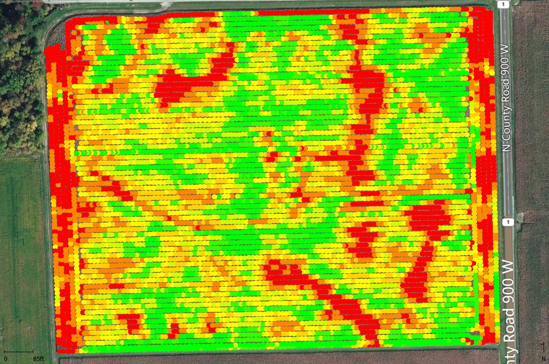 Yield data after processing.